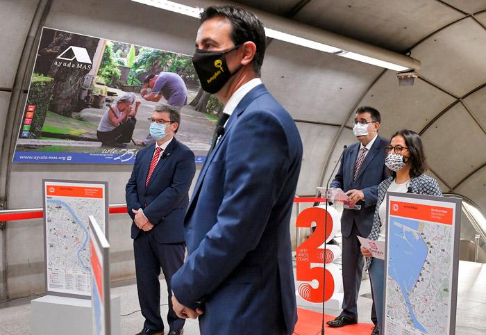 Ayudamas Metro de Bilbao 25 años